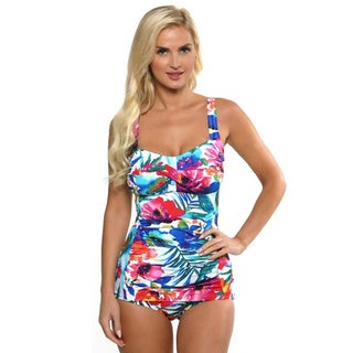 It Figures! Women's Multi Colored Daydream Swimsuit
