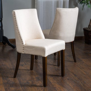 Christopher Knight Home Harman Fabric Dining Chair (Set of 2)