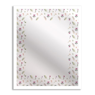 Gallery Direct Flowers in Spring Mirror Art