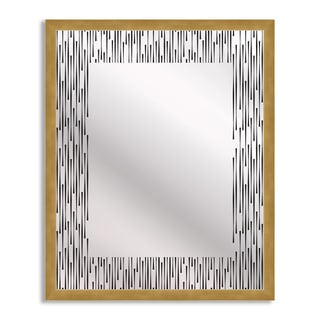 Midcentury Chic Mirror Art