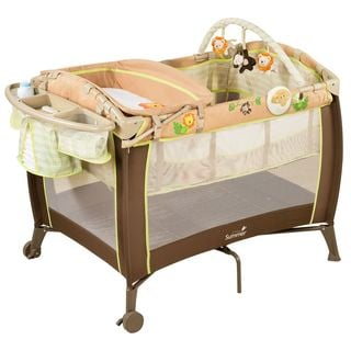 Summer Infant Grow with Me Playard and Changer in Swingin' Safari