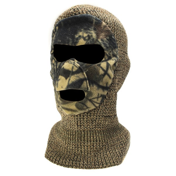QuietWear Knit and Fleece Cold-weather Mask