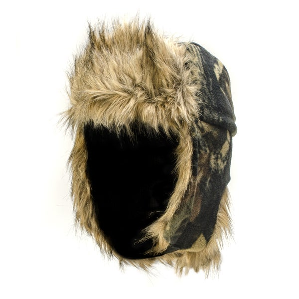 QuietWear Fleece Trapper Hat