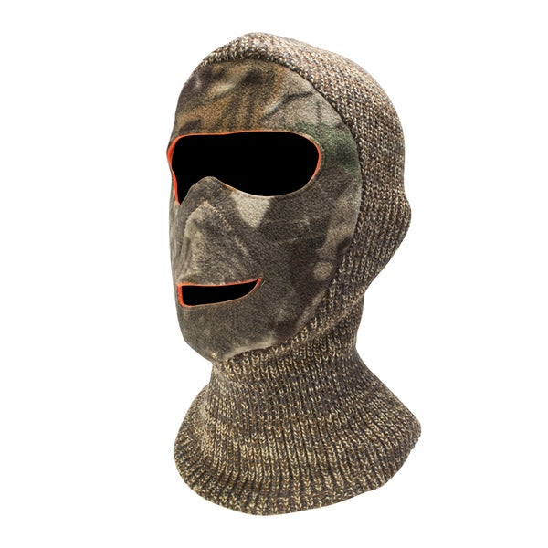 QuietWear Reversible Camo Facemask