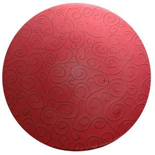 French Home Cranberry Red 9-inch Dinner Plates (Set of 6)