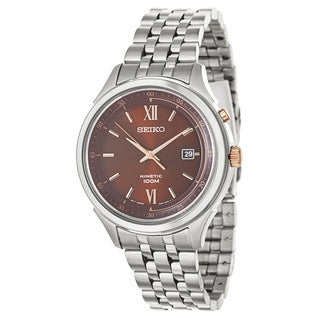 Seiko Men's Stainless Steel Kenitic Watch