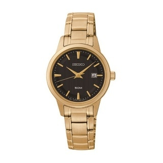 Seiko Women's Stainless Steel and Gold Tone Watch