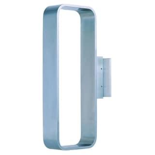 Alumilux E41323-SA Open Rectangle Silver Aluminum Wall Sconce