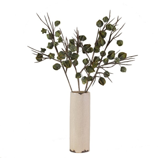 Decorative Green Lantern Branch (Set of 4)