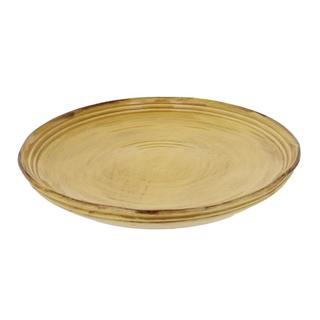 French Home Saffron 11.5-inch Stoneware Plates (Set of 4)