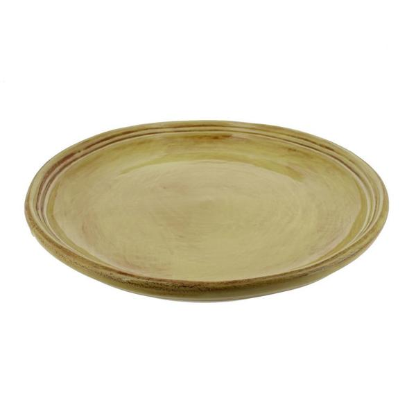 French Home Saffron Gold 9-inch Stoneware Plates (Set of 4)