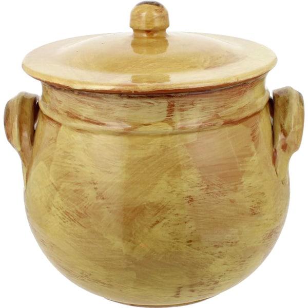 French Home Saffron Gold Italian Stock Pot