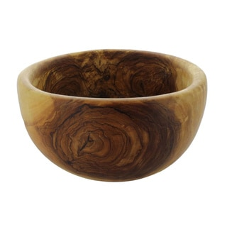 French Home Olive Wood Salad Bowl