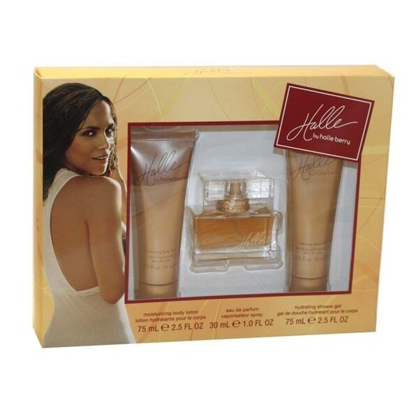 Halle Berry Halle Women's 3-piece Fragrance Set