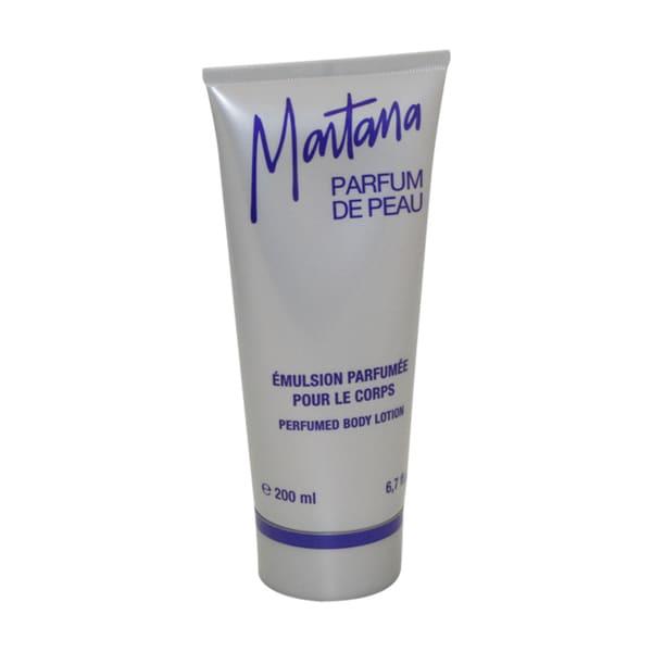 Montana Parfum de Peau Women's 6.7-ounce Perfumed Body Lotion