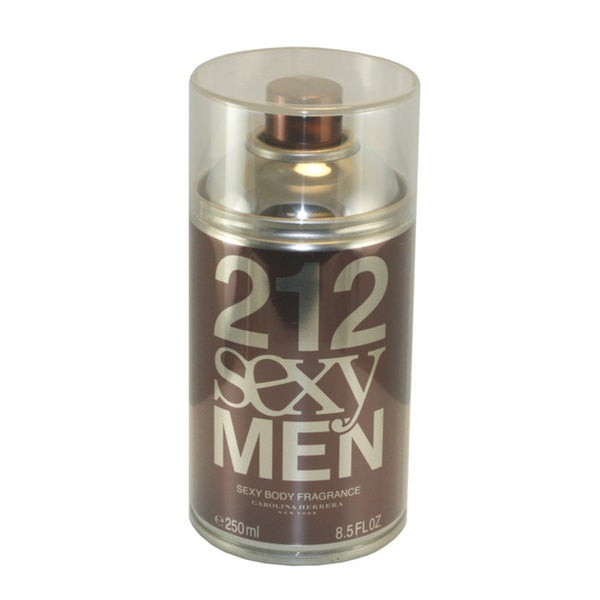 Carolina Herrera 212 Sexy Men's 8.5-ounce Sexy Body Fragrance Spray