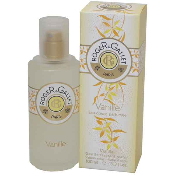 Roger & Gallet Vanilla Women's 3.3-ounce Gentle Fragrant Water Spray