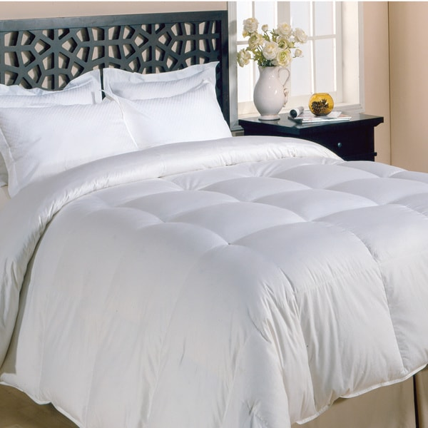 All-season White Premier Microfiber Down Alternative Comforter King-size (As Is Item)
