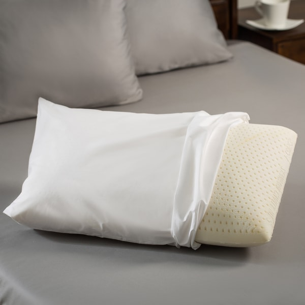 Premium Natural Latex Foam Pillow Size Queen (As Is Item)