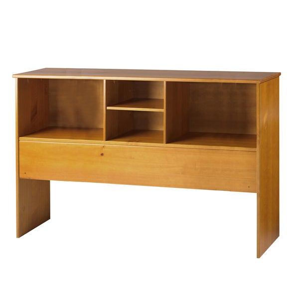 Full Wood Headboard : Kansas Solid Wood Full Size Bookcase Headboard - 16848512 - Overstock ...