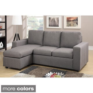 Askim Reversible Sectional with Matching Ottoman