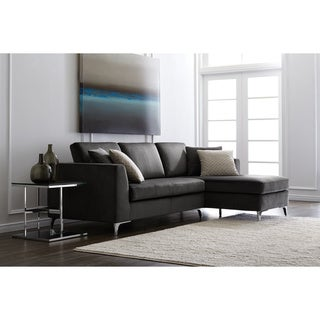 Sunpan '5West' Grey Sectional Sofa
