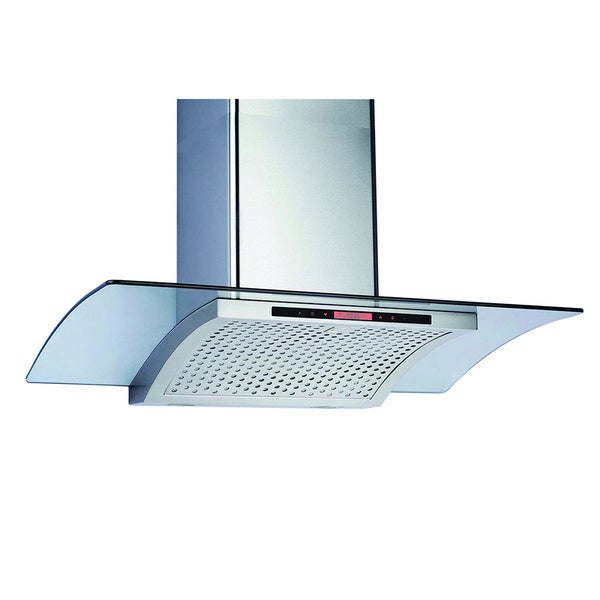 Contemporary Series Stainless Steel Single Blower Wall Mounted Range Hood