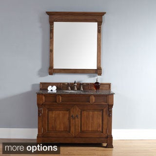 48-inch Brookfield Country Oak Single Cabinet Vanity
