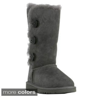 Ugg Girl's Bailey Button Triplet Boots