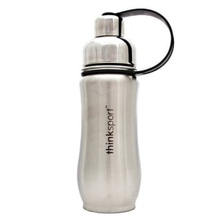 Thinksport Silver Insulated 12-ounce Sports Bottle