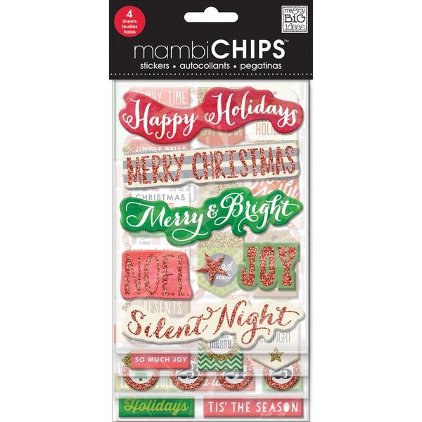 Chipboard Value Pack-Holiday Tags/Numbers