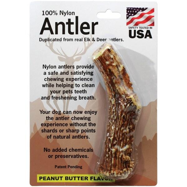 Large Antler-Peanut Butter