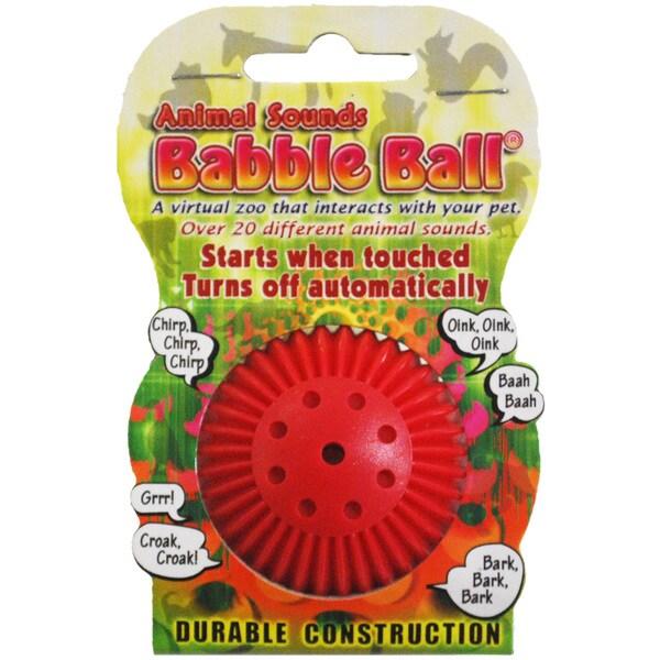 Small Animal Sounds Babble Ball-Yellow
