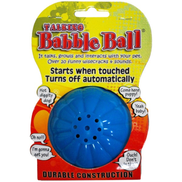 Large Talking Babble Ball-Blue