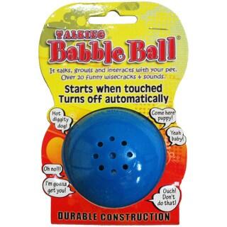 Medium Talking Babble Ball-Blue