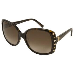 Valentino Women's V623S Rectangular Sunglasses