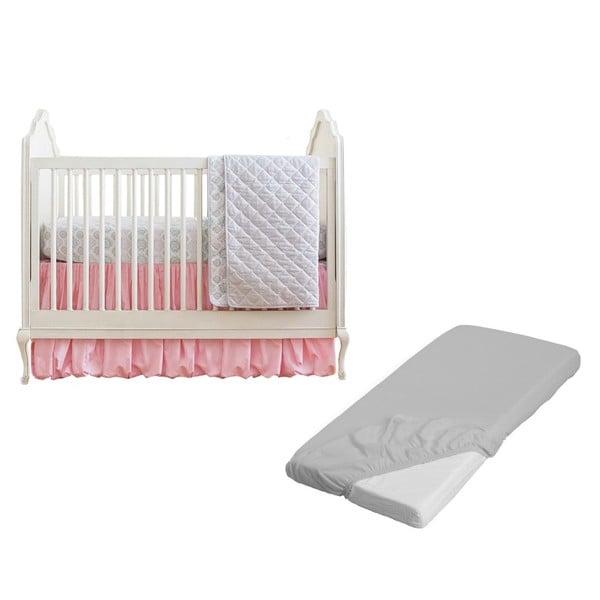 Summer Infant Parisian Pink Classic 4-piece Crib Bedding Set