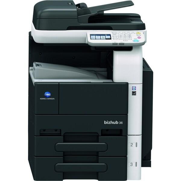 Konica Minolta bizhub Laser Multifunction Printer - Monochrome - Plai