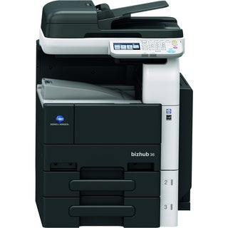 Konica Minolta bizhub Laser Multifunction Printer - Monochrome - Plai