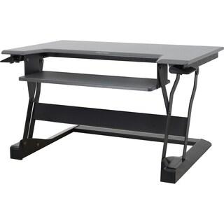 Ergotron WorkFit-T, Sit-Stand Desktop Workstation (Black)