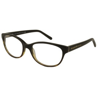 Kate Spade Women's Purdy Brown Oval Reading Glasses