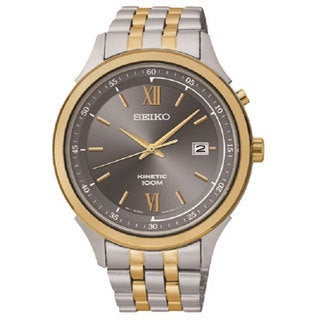 Seiko Men's SKA658 Two-tone Stainless Steel Chronograph Watch