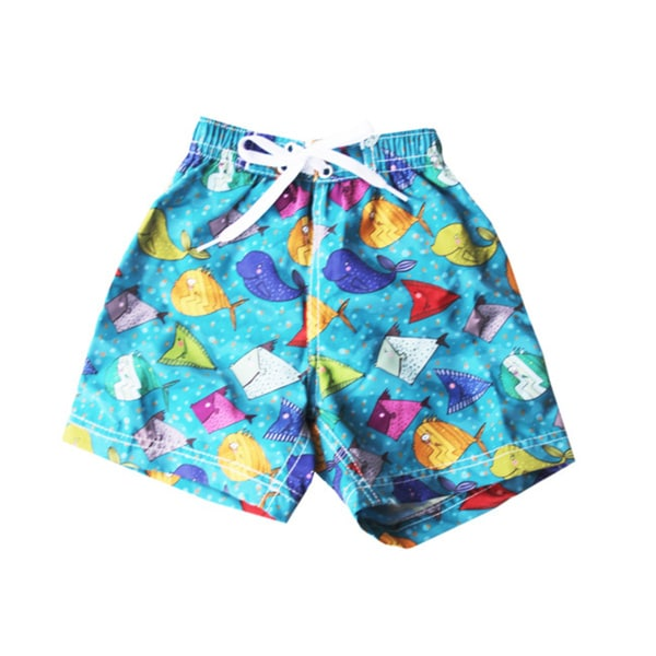 Azul Swimwear Boys 'Happy Fish' Swim Shorts