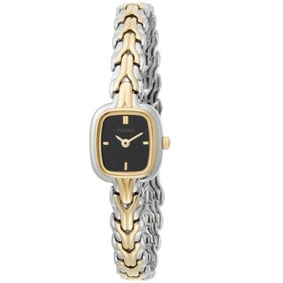 Pulsar Women's 'Bracelet' PPGD54 Stainless Steel Yellow Goldtone Watch