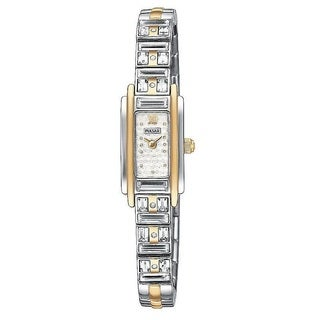 Pulsar Women's PEX534 Stainless Steel Yellow Goldtone Crystal Watch