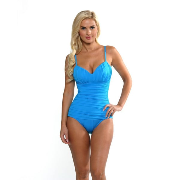 Miraclesuit Women's 'Rialto' Turquoise Blue Swimsuit