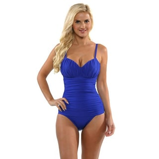 Miraclesuit Women's 'Rialto' Blue One-piece Swimsuit