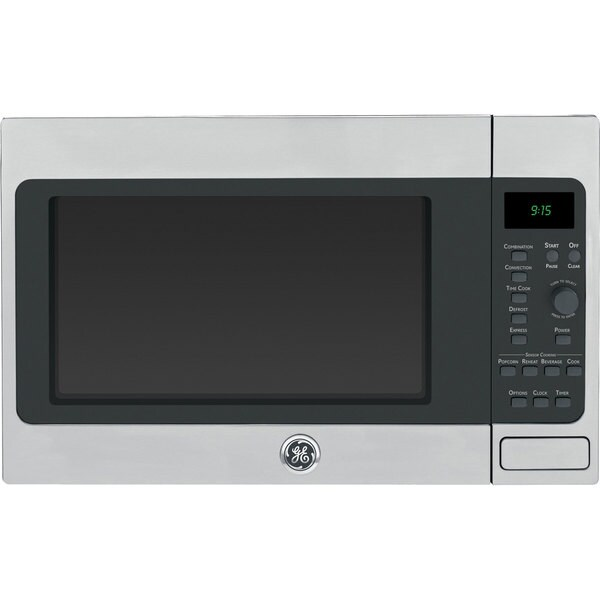 Ge Stainless Steel 1 5 Cubic Foot Countertop Microwave