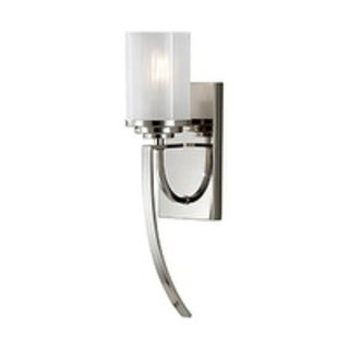 Finley Polished Nickel 1-light Wall Sconce