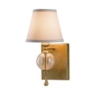 Argento Oxidized Silver Leaf Pata 1-light Wall Sconce